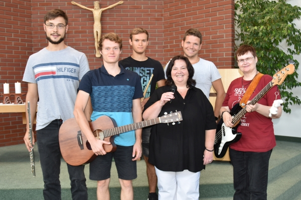 Rhythmischer Gottesdienst Band