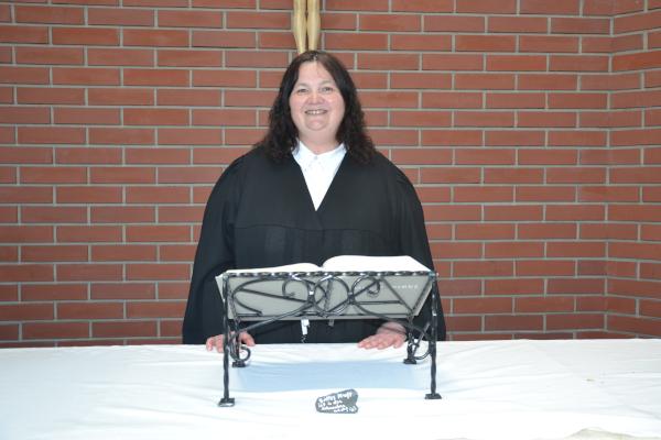 Lektorin Claudia Buchner